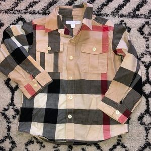 Burberry toddler button down
